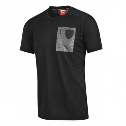تیشرت مردانه پوما فراری Puma Ferrari Small Shield Tee moonless night 56935701