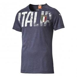 تیشرت مردانه پوما فیگک ایتالیا Puma Figc Italia Azzurri Badge Tee peacoat 74695104
