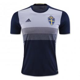پیراهن دوم تیم ملی سوئد ویژه یورو Sweden Euro 2016 Away Soccer Jersey