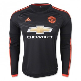 پیراهن سوم منچستریونایتد استین دار Manchester United Third Soccer Jersey Long Sleeve 2015-2016