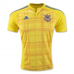 پیراهن اول تیم ملی اوکراین ویژه یورو Ukraine Euro 2016 Home Soccer Jersey