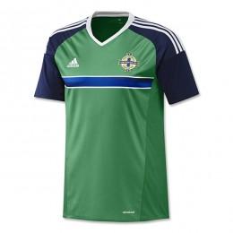 پیراهن اول تیم ملی ایرلند شمالی ویژه یورو North ireland Euro 2016 Home Soccer Jersey