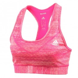 نیم تنه زنانه آدیداس تکفیت Adidas Techfit Bra Heather AO1718
