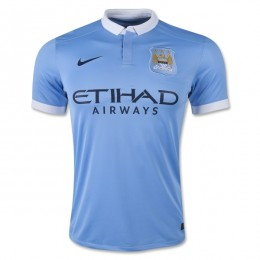 پیراهن اول منچستر سیتی Manchester City 2015-16 Home Soccer Jersey