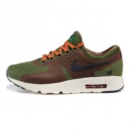 کتانی رانینگ مردانه نایک ایر مکس Nike Air Max Zero Brown Green Mens