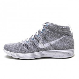 کتانی رانینگ مردانه نایک لونار فلای نیت چوکا Nike Lunar Flyknit Chukka Light Charcoal