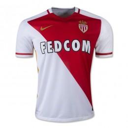 پیراهن اول تیم موناکو Monaco 2015-16 Home Soccer Jersey