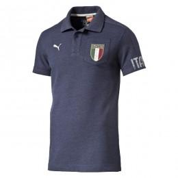پلو شرت مردانه پوما فیگک ایتالیا Puma Figc Italia Azzurri Ss Polo peacoat 74694904
