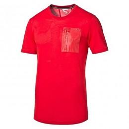 تیشرت مردانه پوما فراری Puma Ferrari Small Shield Tee rosso corsa 56935702