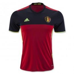 پیراهن اول تیم ملی بلژیک ویژه یورو Belgium Euro 2016 Home Soccer Jersey