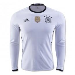پیراهن اول تیم ملی آلمان آستین دار ویژه یورو Germany Euro 2016 Long Sleeve Home Soccer Jersey