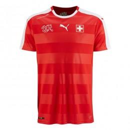 پیراهن اول تیم ملی سوئیس ویژه یورو Switzerland Euro 2016 Home Soccer Jersey