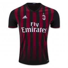 پیراهن اول آ ث میلان Ac Milan 2016-17 Home Soccer Jersey