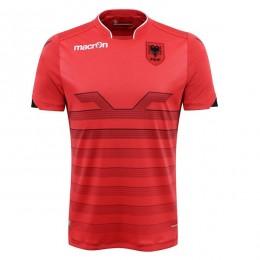 پیراهن اول تیم ملی آلبانی ویژه یورو Albania Euro 2016 Home Soccer Jersey