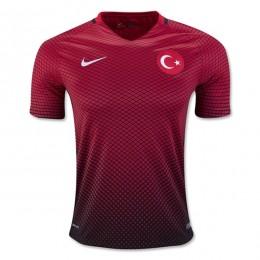 پیراهن اول تیم ملی ترکیه ویژه یورو Turkey Euro 2016 Home Soccer Jersey