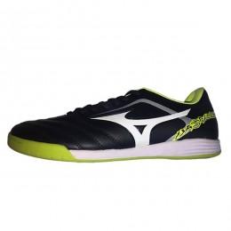 کفش فوتسال میزانو باسارا مشکی سبز Mizuno Basara