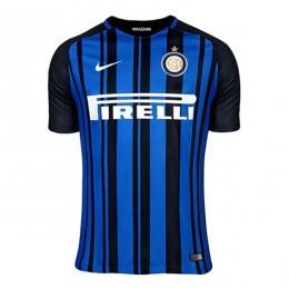پیراهن اول اینترمیلان Inter Milan 2017-18 Home Soccer Jersey