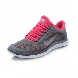 کتانی نایک فری زنانه Nike Free 3.0 V5 Women Grey Red