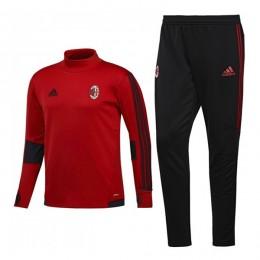 ست گرمکن و شلوار آث میلان Adidas Ac Milan 2017-18 Training Suit Red