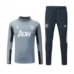 ست گرمکن و شلوار منچستریونایتد Adidas Manchester United 2017-18 Training Suit