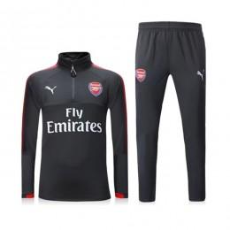 ست گرمکن و شلوار آرسنال Puma Arsenal 2017-18 Training Suit Black