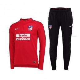 ست گرمکن و شلوار اتلتیکو Nike Atleticos Madrid 2017-18 Training Suit Red