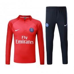 ست گرمکن و شلوار پاریسن ژرمن Nike Paris Saint Germain 2017 Training Suit Red