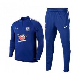 ست گرمکن و شلوار چلسی Nike Chelsea 2017-18 Training Suit B