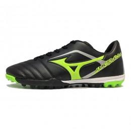 کفش فوتبال میزانو باسارا مشکی سبز Mizuno Basara