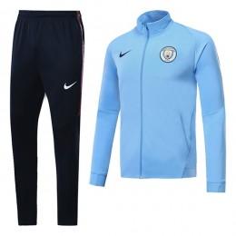 ست گرمکن شلوار منچستر سیتی آبی Nike Manchester City 2017-18 Tracksuits Blue