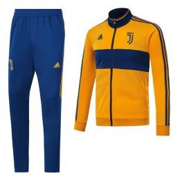 ست گرمکن شلوار یوونتوس زرد Adidas Juventus 2017-18 Tracksuits Yellow