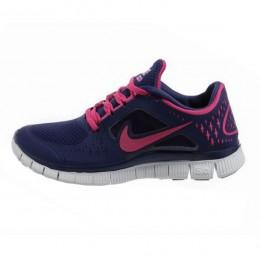 کتانی نایک فری ران زنانه Nike Free Run 3 Womens Night Blue
