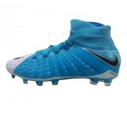 کفش فوتبال نایک هایپرونوم طرح اصلی سفید ابی Nike Hypervenom
