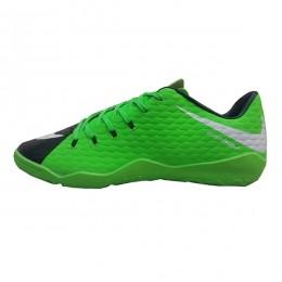 کفش فوتسال نایک هایپرونوم طرح اصلی سبز مشکی Nike Hypervenom