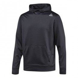 هودی مردانه ریبوک ورکت Reebok Workout Ready Elitage Hoodie Black BQ5678
