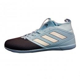 کفش فوتسال آدیداس طرح اصلی آبی آسمانی مشکی Adidas