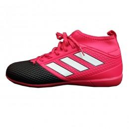 کفش فوتسال آدیداس طرح اصلی آبی صورتی مشکی Adidas