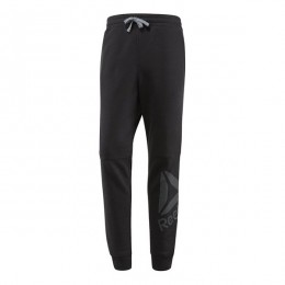 شلوار مردانه ریبوک ورکت Reebok Workout Ready Big Logo Cotton Pant Black B49898