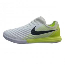 کفش فوتسال نایک مجیستا ایکس طرح اصلی سفید زرد Nike MagistaX