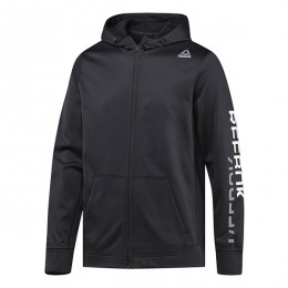 هودی مردانه ریبوک ورکت Reebok Workout Ready Poly Fleece Graphic Hoodie BR7761