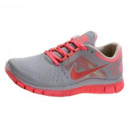 کتانی نایک فری ران زنانه Nike Free Run 3 Womens Grey Pink