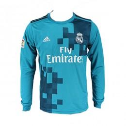 پیراهن سوم رئال مادرید آستین دار Real Madrid 2017-18 Third Soccer Jersey Long Sleeve