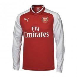پیراهن اول آرسنال آستین دار Arsenal 2017-18 Home Soccer Jersey Long Sleeve