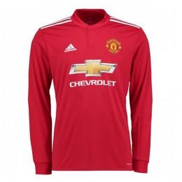 پیراهن اول منچستریونایتد آستین دار Manchester United 2017-18 Home Soccer Jersey Long Sleeve