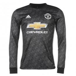 پیراهن دوم منچستریونایتد آستین دار Manchester United 2017-18 Away Soccer Jersey Long Sleeve
