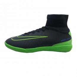 کفش فوتسال نایک مرکوریال طرح اصلی مشکی سبز Nike Mercurial