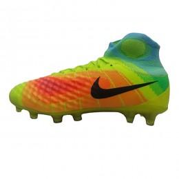 کفش فوتبال نایک مجیستا طرح اصلی زرد نارنجی Nike Magista