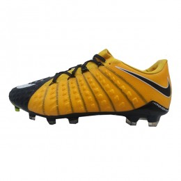کفش فوتبال نایک هایپرونوم طرح اصلی زرد مشکی Nike Hypervenom