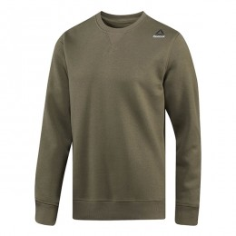 سوئیشرت مردانه ریبوک المنت Reebok Element Fleece Crew Neck Sweatshirt Armygr BP9066
