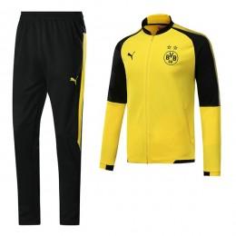 ست گرمکن شلوار دورتموند زرد Puma Dortmund 2017-18 Tracksuits